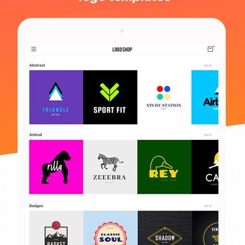 Logo Maker Shop ipad image 2