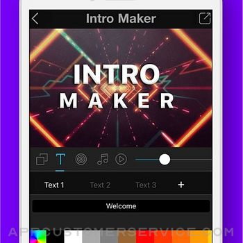 Intro + 3D Movie Trailer Maker iphone image 1