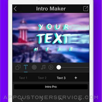 Intro + 3D Movie Trailer Maker iphone image 3
