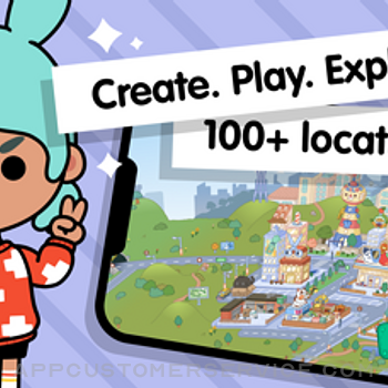 Toca Life World: Build stories iphone image 1