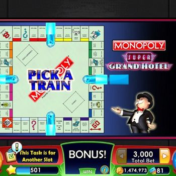 MONOPOLY Slots - Slot Machines ipad image 2