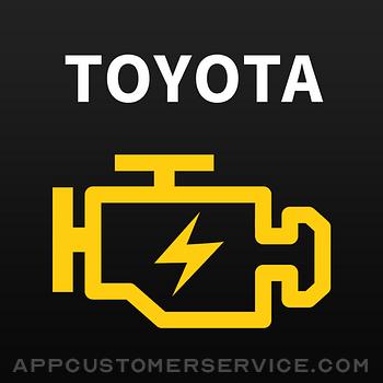 Toyota App! Customer Service