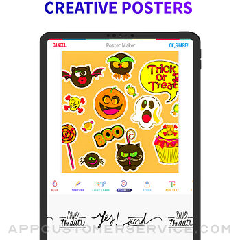 Poster Flyer Maker Icon Design ipad image 4