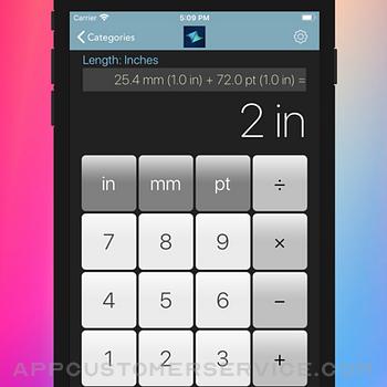 Measurement Calc iphone image 2