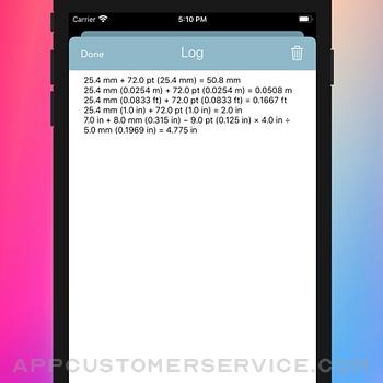 Measurement Calc iphone image 3