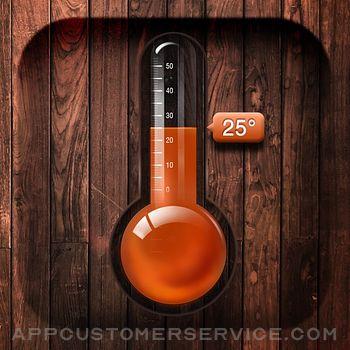Digital Thermometer app Customer Service