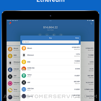Trust: Crypto & Bitcoin Wallet ipad image 2