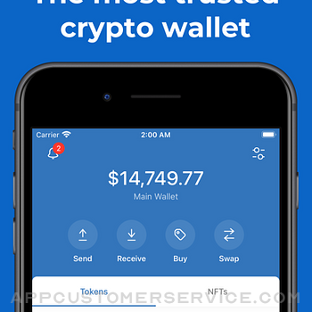 Trust: Crypto & Bitcoin Wallet iphone image 1