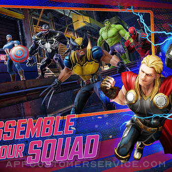 MARVEL Strike Force: Squad RPG ipad image 1