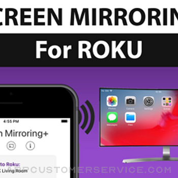 Screen Mirroring+ for Roku iphone image 1