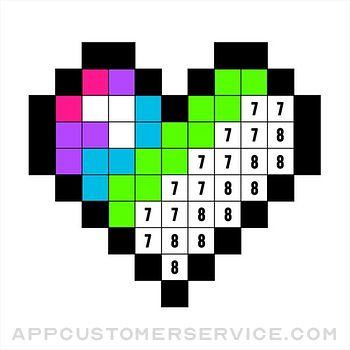 Color by Number:Coloring Games Customer Service