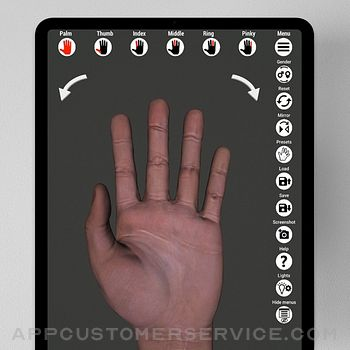 Manus - Hand reference for art ipad image 1