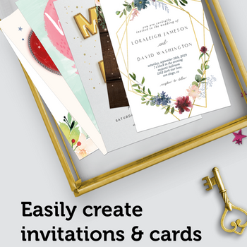 Invitation Maker: Custom Cards ipad image 1