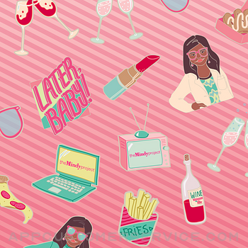 The Mindy Project Stickers ipad image 1