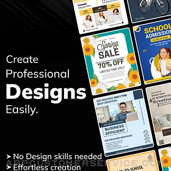 Flyer Maker Poster Maker ipad image 1