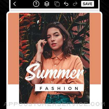 Flyer Maker Poster Maker iphone image 3