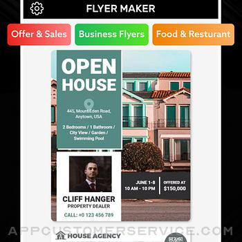 Flyer Maker Poster Maker iphone image 4