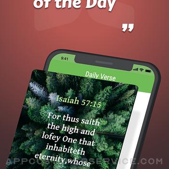 Bible KJV - Daily Bible Verse iphone image 1