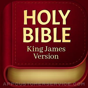 Bible KJV - Daily Bible Verse Customer Service