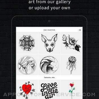INKHUNTER PRO Tattoos try on ipad image 1