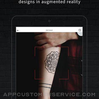INKHUNTER PRO Tattoos try on ipad image 2