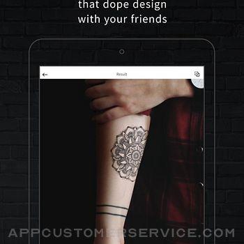 INKHUNTER PRO Tattoos try on ipad image 4