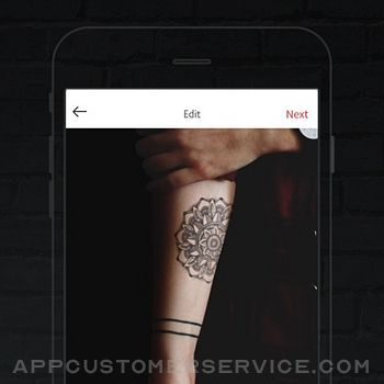 INKHUNTER PRO Tattoos try on iphone image 3