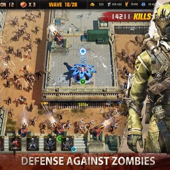 Age of Z Origins:Tower Defense ipad image 2