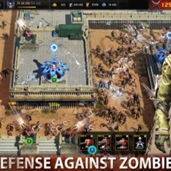 Age of Z Origins:Tower Defense iphone image 2