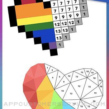 Artbox - Poly Game & Pixel Art iphone image 4