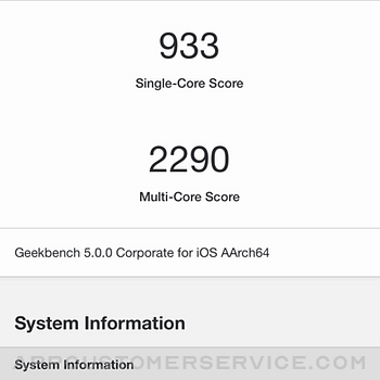 Geekbench 5 iphone image 3