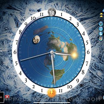 Flat Earth Sun, Moon & Zodiac ipad image 1