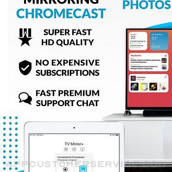 TV Mirror+ for Chromecast ipad image 1