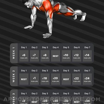 Workouts by Muscle Booster iphone image 1