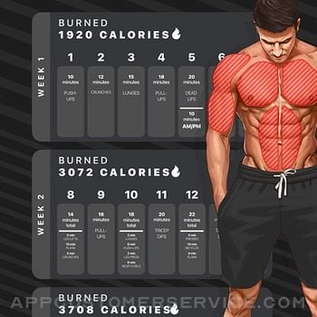 Workouts by Muscle Booster iphone image 2