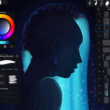 IArtbook - Digital Painting ipad image 1