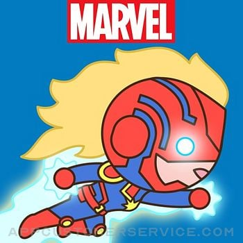 Captain Marvel Stickers Customer Service