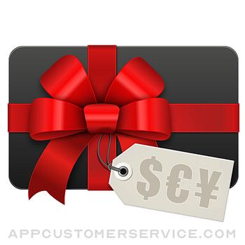 Gift Card Balance + Customer Service