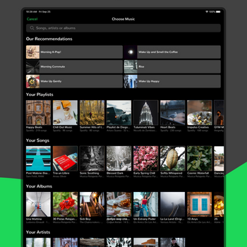 Music Alarm Clock for Spotify+ ipad image 2
