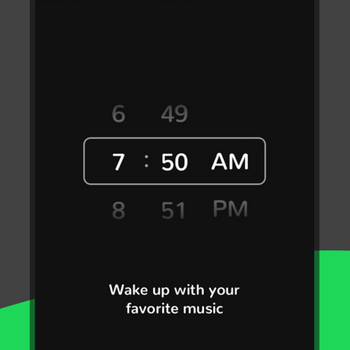 Music Alarm Clock for Spotify+ iphone image 1
