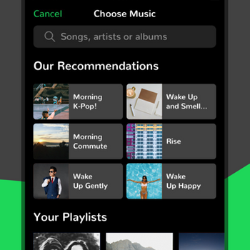 Music Alarm Clock for Spotify+ iphone image 2
