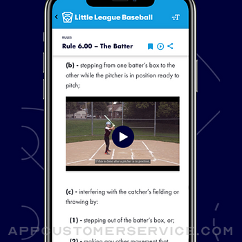 Little League Rulebook iphone image 3