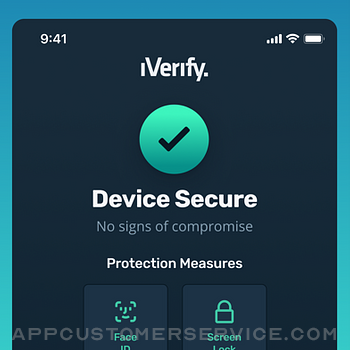 IVerify. - Secure your Phone! iphone image 1