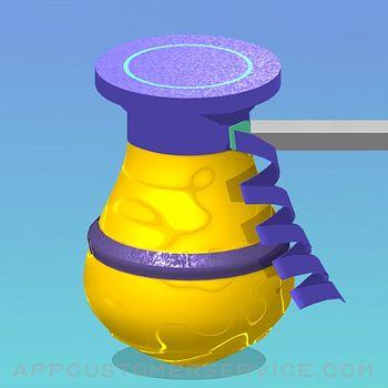 Pottery Stack 3D Customer Service