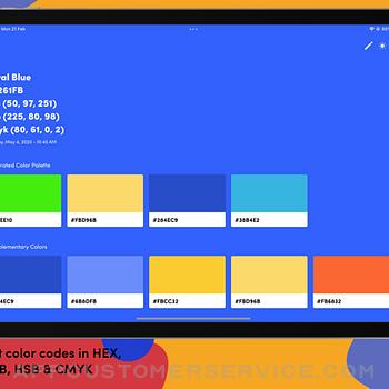Litur - Color Picker ipad image 4