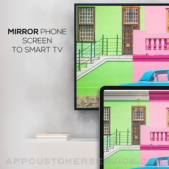 Screen Mirroring Z - Miracast ipad image 1