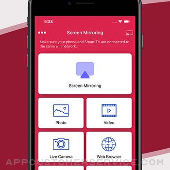Screen Mirroring Z - Miracast iphone image 3