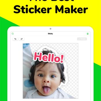 Sticky - Memes & Sticker Maker ipad image 1