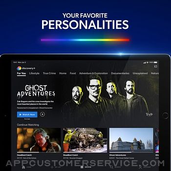Discovery+ | Stream TV Shows ipad image 2