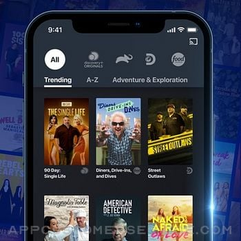 Discovery+ | Stream TV Shows iphone image 1